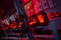 9030 Pumpkin Lighting at the Vashon Roasterie 102713
