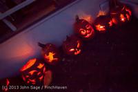 9035 Pumpkin Lighting at the Vashon Roasterie 102713