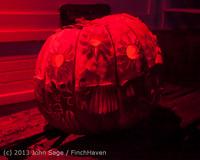 9040 Pumpkin Lighting at the Vashon Roasterie 102713