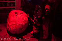 9041 Pumpkin Lighting at the Vashon Roasterie 102713