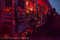 9044 Pumpkin Lighting at the Vashon Roasterie 102713