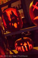 9057 Pumpkin Lighting at the Vashon Roasterie 102713