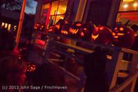 9059 Pumpkin Lighting at the Vashon Roasterie 102713