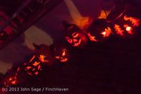 9065 Pumpkin Lighting at the Vashon Roasterie 102713