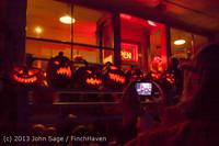 9066 Pumpkin Lighting at the Vashon Roasterie 102713