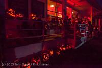 9070 Pumpkin Lighting at the Vashon Roasterie 102713