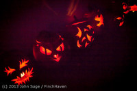 9071 Pumpkin Lighting at the Vashon Roasterie 102713