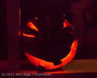 9075 Pumpkin Lighting at the Vashon Roasterie 102713