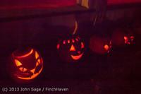 9082 Pumpkin Lighting at the Vashon Roasterie 102713