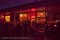 9085 Pumpkin Lighting at the Vashon Roasterie 102713