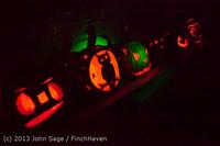 9101 Pumpkin Lighting at the Vashon Roasterie 102713