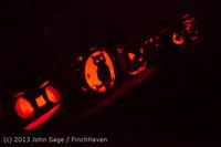 9102 Pumpkin Lighting at the Vashon Roasterie 102713