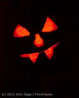 9110 Pumpkin Lighting at the Vashon Roasterie 102713
