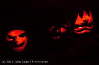 9112 Pumpkin Lighting at the Vashon Roasterie 102713