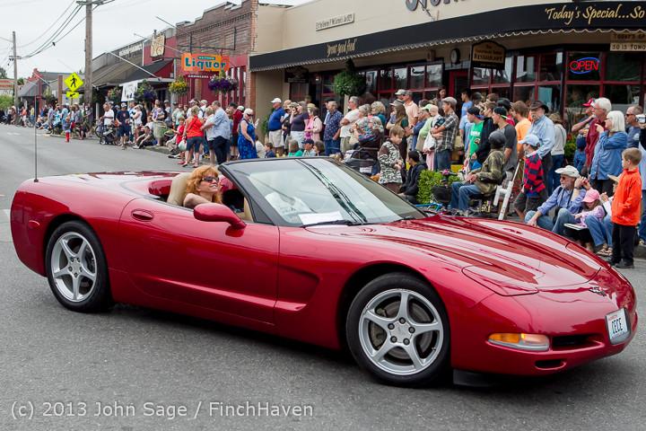 19019 Tom Stewart Car Parade and Show 2013 072113
