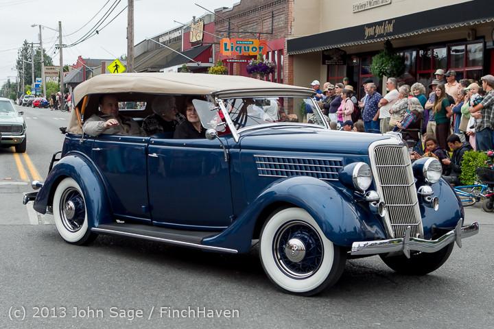 19031 Tom Stewart Car Parade and Show 2013 072113