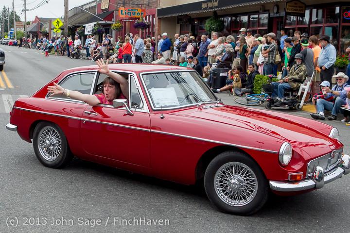 19046 Tom Stewart Car Parade and Show 2013 072113