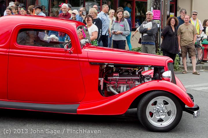 19101 Tom Stewart Car Parade and Show 2013 072113