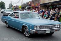 19109 Tom Stewart Car Parade and Show 2013 072113