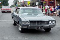 19119 Tom Stewart Car Parade and Show 2013 072113