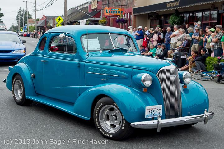 19144 Tom Stewart Car Parade and Show 2013 072113