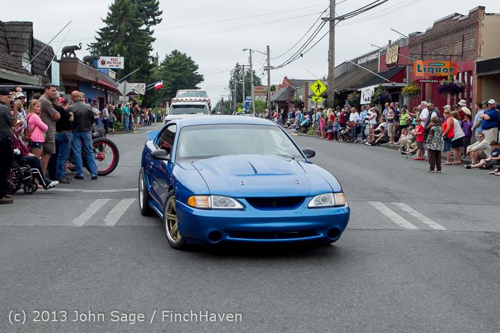 19147 Tom Stewart Car Parade and Show 2013 072113