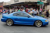 19151 Tom Stewart Car Parade and Show 2013 072113