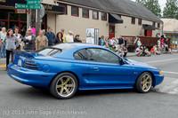 19153 Tom Stewart Car Parade and Show 2013 072113