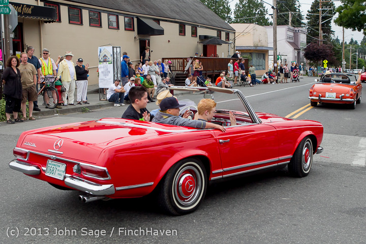 19245 Tom Stewart Car Parade and Show 2013 072113