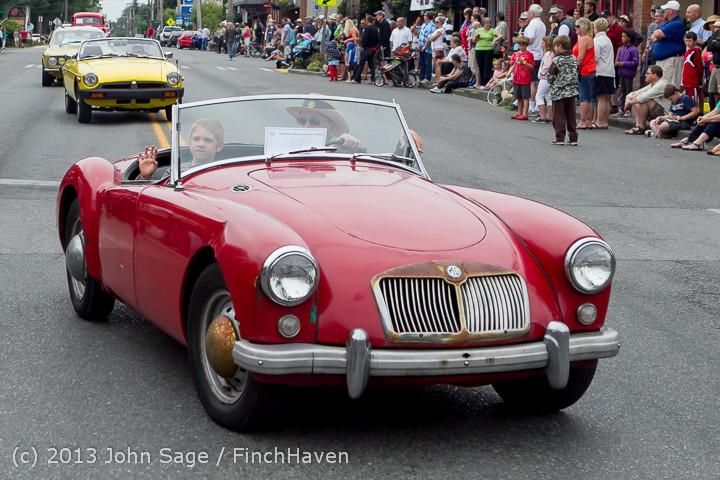 19285 Tom Stewart Car Parade and Show 2013 072113