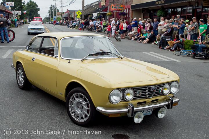 19295 Tom Stewart Car Parade and Show 2013 072113