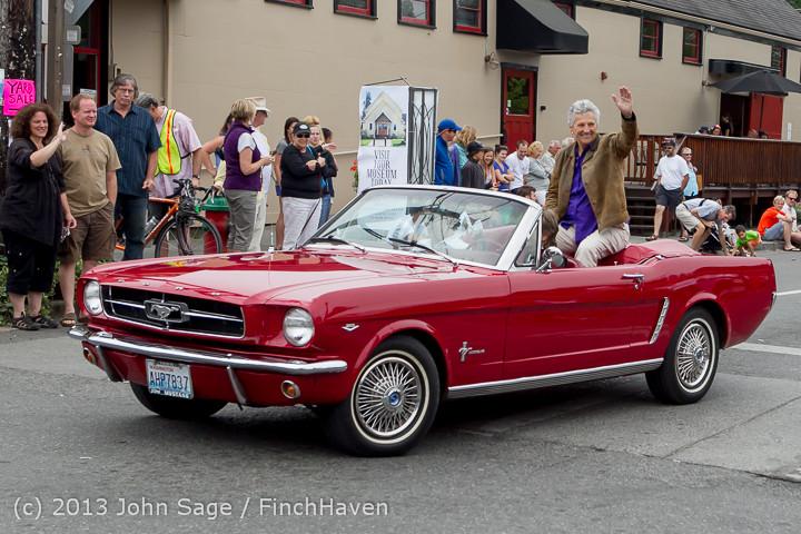 19319 Tom Stewart Car Parade and Show 2013 072113