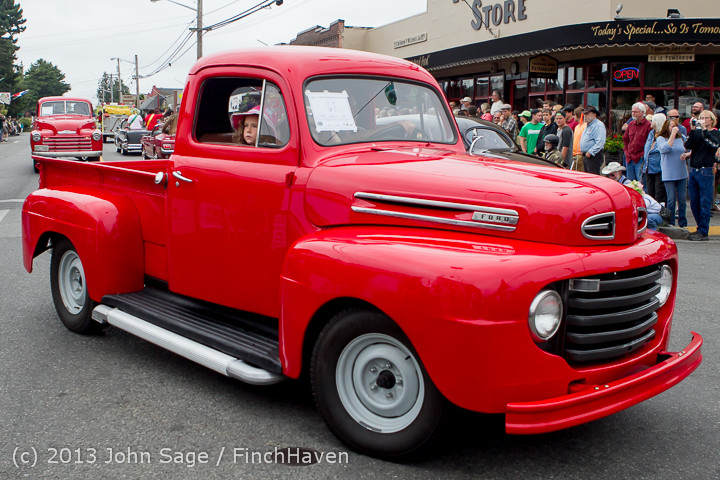 19328 Tom Stewart Car Parade and Show 2013 072113