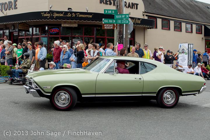 19334 Tom Stewart Car Parade and Show 2013 072113