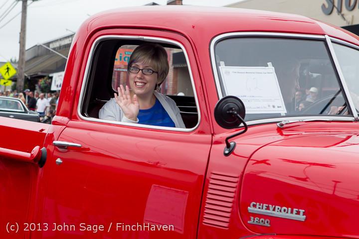 19336 Tom Stewart Car Parade and Show 2013 072113