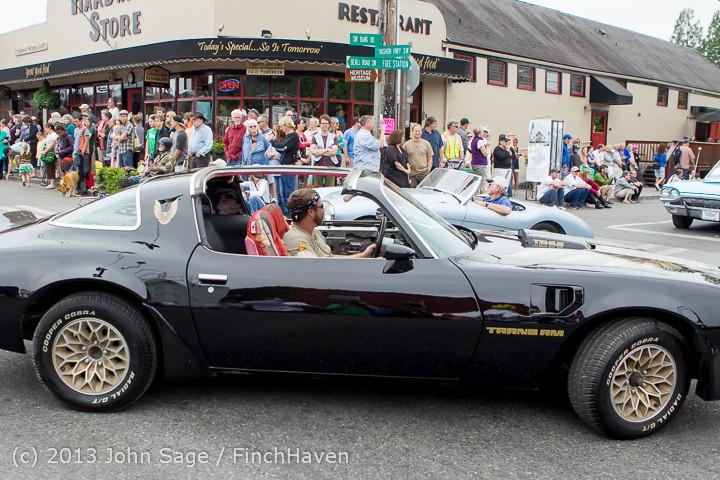 19348 Tom Stewart Car Parade and Show 2013 072113
