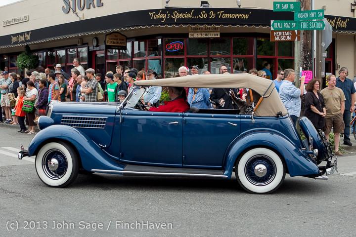 19364 Tom Stewart Car Parade and Show 2013 072113