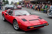 19387 Tom Stewart Car Parade and Show 2013 072113