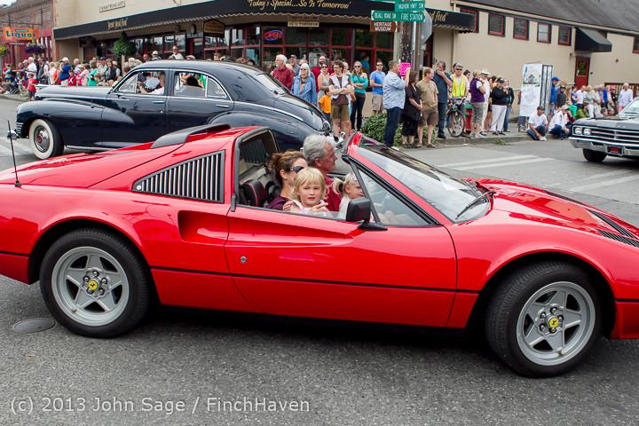 19391 Tom Stewart Car Parade and Show 2013 072113