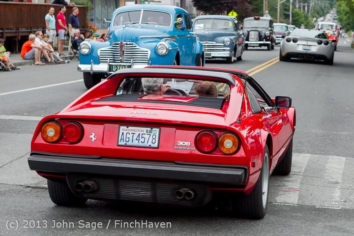 19396 Tom Stewart Car Parade and Show 2013 072113