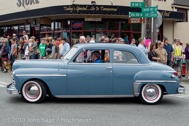 19408 Tom Stewart Car Parade and Show 2013 072113