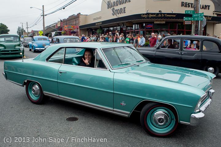 19412 Tom Stewart Car Parade and Show 2013 072113