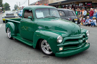 19418 Tom Stewart Car Parade and Show 2013 072113
