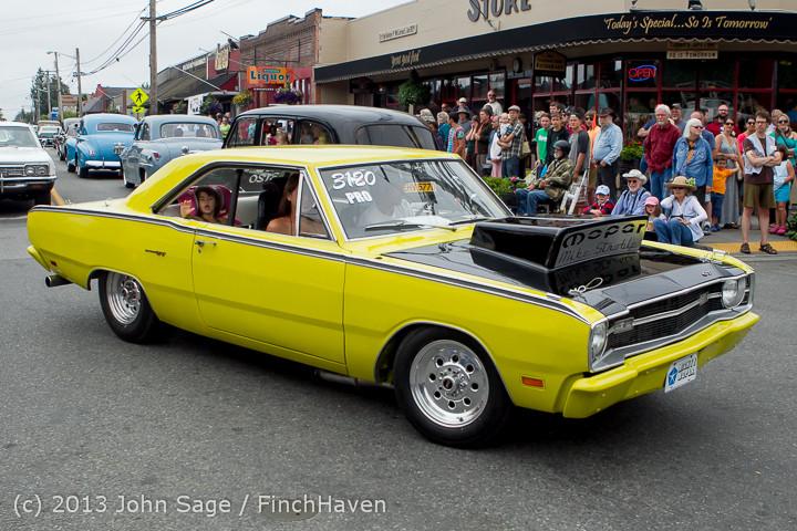 19428 Tom Stewart Car Parade and Show 2013 072113