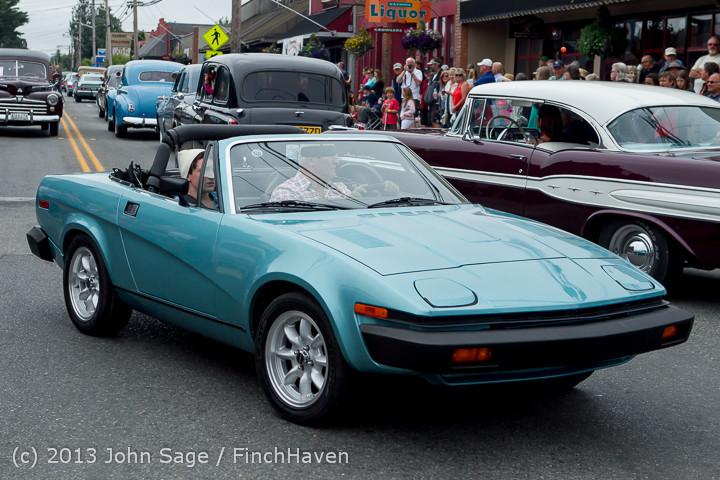 19473 Tom Stewart Car Parade and Show 2013 072113