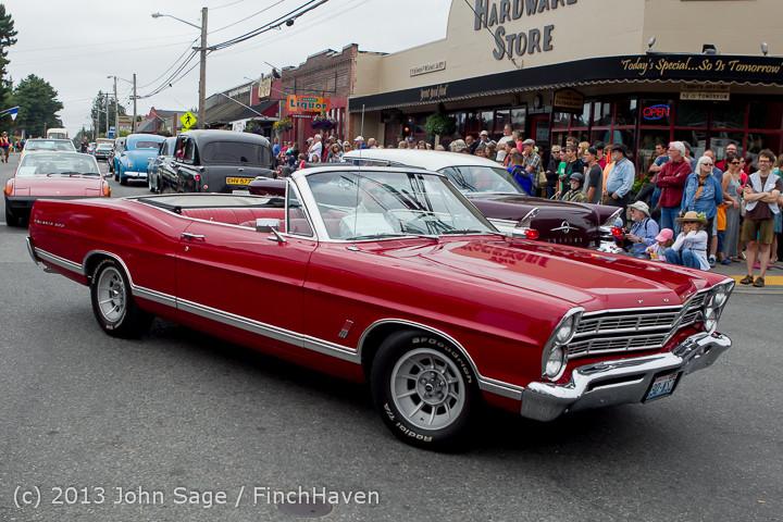 19485 Tom Stewart Car Parade and Show 2013 072113
