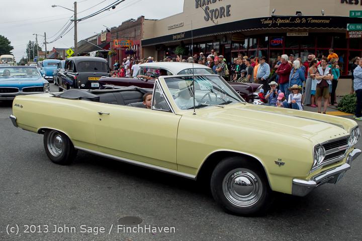 19502 Tom Stewart Car Parade and Show 2013 072113
