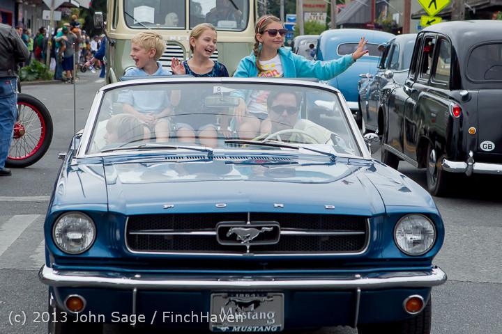 19519 Tom Stewart Car Parade and Show 2013 072113