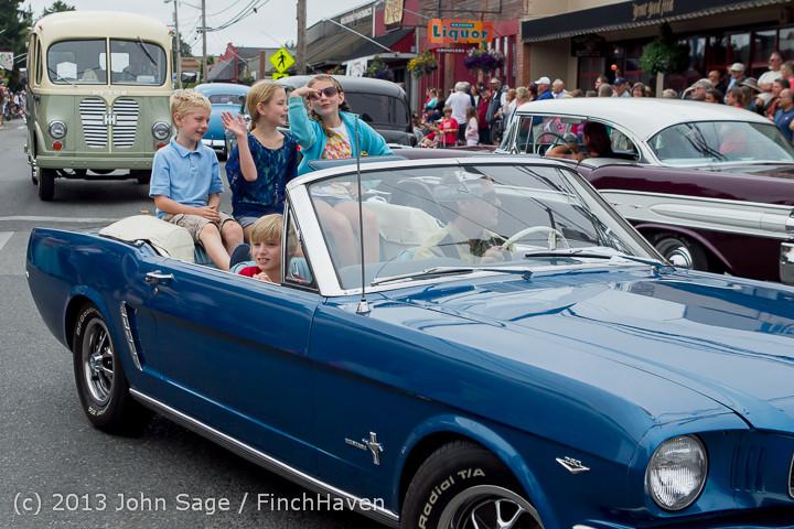 19523 Tom Stewart Car Parade and Show 2013 072113