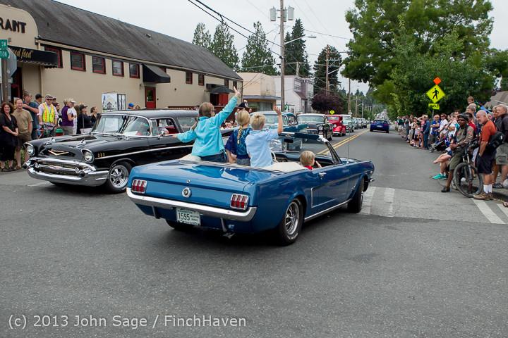 19529 Tom Stewart Car Parade and Show 2013 072113